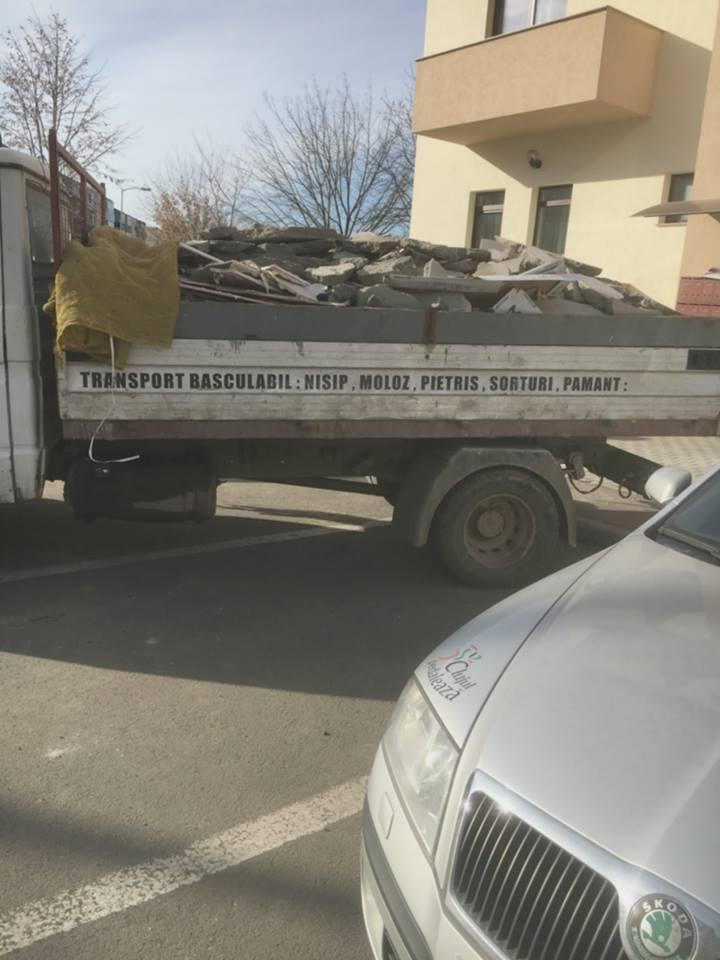 15 transport moloz Cluj ,deseuri